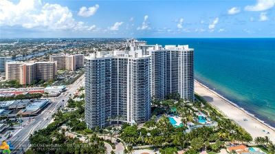 Fort Lauderdale Condo/Townhouse For Sale: 3200 N Ocean Blvd #2403