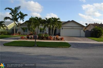 Cooper City Single Family Home For Sale: 11724 SW 59 Street