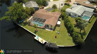 Oakland Park Single Family Home For Sale: 3451 NW 20th Ave