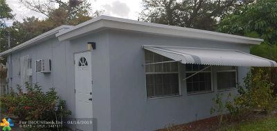 Fort Lauderdale Single Family Home For Sale: 824 NW 17th Ave