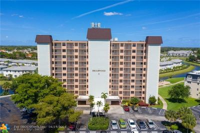 Coral Springs Condo/Townhouse For Sale: 3575 Brokenwoods Dr #501