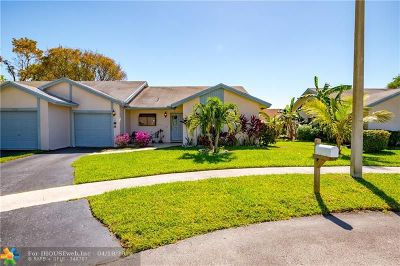 Tamarac Condo/Townhouse For Sale: 6030 NW 78th Way