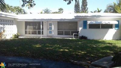 Fort Lauderdale Single Family Home For Sale: 2041 NE 52nd St
