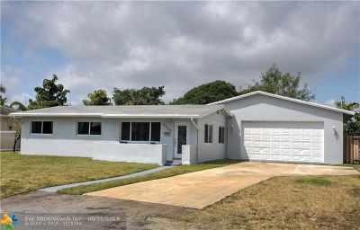 Wilton Manors Single Family Home For Sale: 2725 NE 2nd Ave
