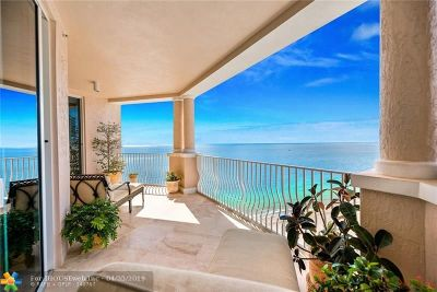 Lauderdale By The Sea Condo/Townhouse For Sale: 1460 S Ocean Blvd #1503