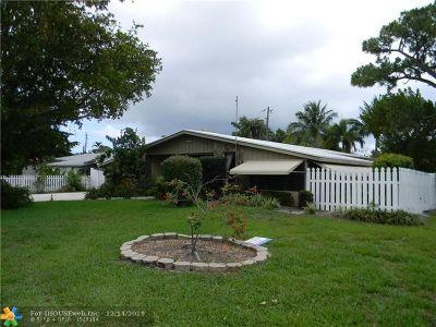 Pompano Beach Single Family Home For Sale: 570 SE 3rd Ave