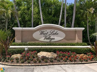 Hollywood Condo/Townhouse For Sale: 1535 Weeping Willow Way #1535