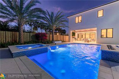 Fort Lauderdale Single Family Home For Sale: 2624 Aurelia Pl