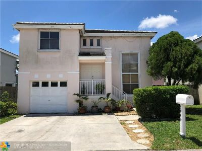 Margate Single Family Home For Sale: 6444 French Angel Ter