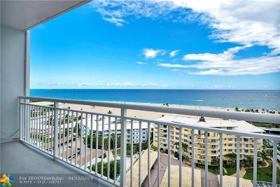 Fort Lauderdale Condo/Townhouse For Sale: 1920 S Ocean Dr #1501