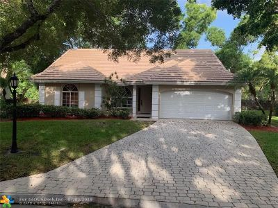Eagle Trace Single Family Home For Sale: 12712 NW 20th Ct
