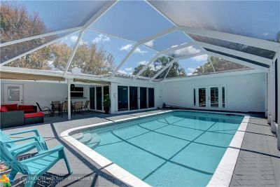 Fort Lauderdale Single Family Home For Sale: 1529 Bayview Dr
