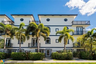 Fort Lauderdale Condo/Townhouse For Sale: 814 NE 7th #B