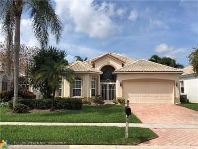Delray Beach Single Family Home For Sale: 7611 Eagle Point Dr