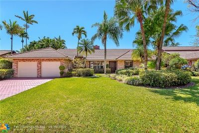 Coral Springs Single Family Home For Sale: 11208 NW 10th Pl