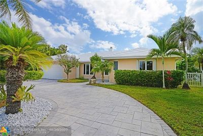 Fort Lauderdale Single Family Home For Sale: 2780 NE 58th St