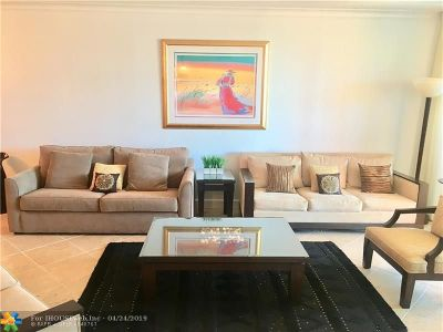 Fort Lauderdale Condo/Townhouse For Sale: 2110 N Ocean Blvd #6D