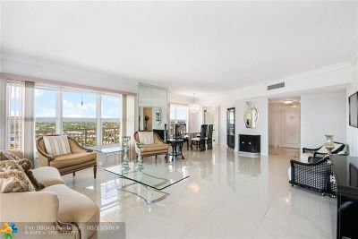 Fort Lauderdale FL Condo/Townhouse For Sale: $559,000