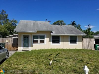 Fort Lauderdale Single Family Home For Sale: 4542 SW 25th Ave