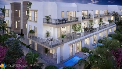Fort Lauderdale Condo/Townhouse For Sale: 12 SE 10th Ave #2