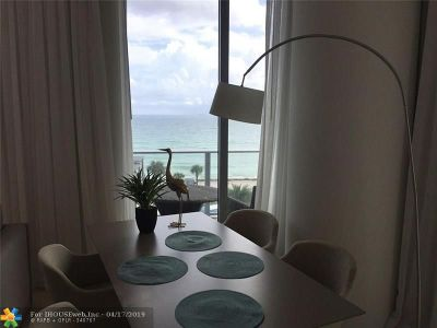 Hollywood Condo/Townhouse For Sale: 4111 S Ocean Dr #405