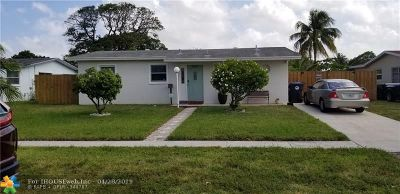 North Lauderdale Single Family Home For Sale: 6602 SW 7th Pl