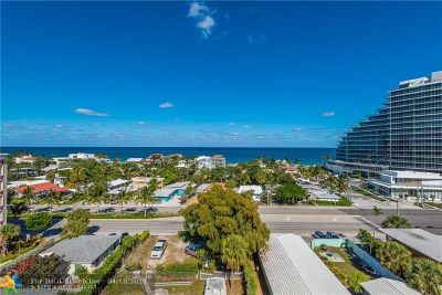 Fort Lauderdale Condo/Townhouse For Sale: 2300 NE 33rd Ave #902