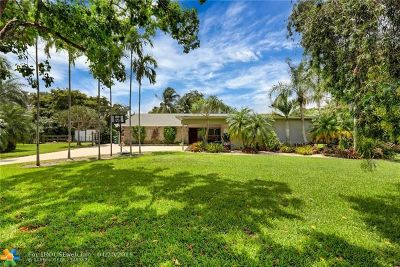 Davie Single Family Home For Sale: 3121 SW 116th Ave