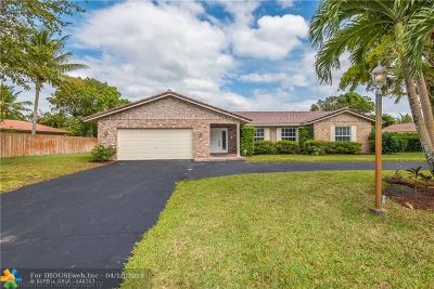 Coral Springs Single Family Home For Sale: 2561 NW 115th Dr