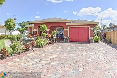 Pompano Beach Single Family Home For Sale: 372 NW 16th Pl