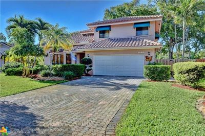 Coral Springs Single Family Home For Sale: 5880 NW 46th Mnr