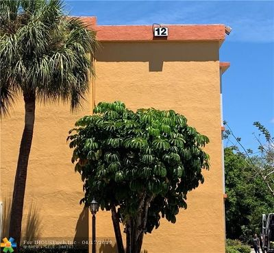Pompano Beach Condo/Townhouse For Sale: 4354 NW 9th Ave #12-3B
