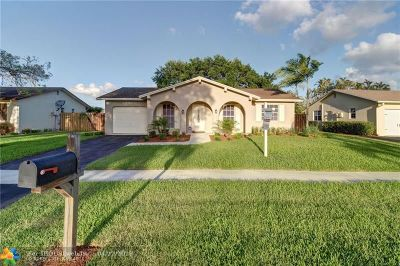 Sunrise Single Family Home For Sale: 2770 NW 108th Ave