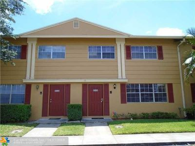 Davie Condo/Townhouse For Sale: 1834 SW 81st Ter #1834