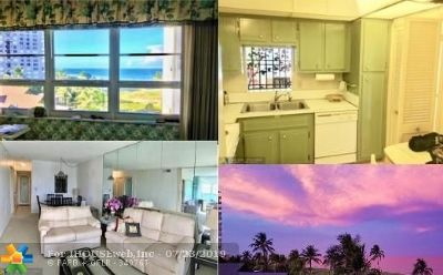 Lauderdale By The Sea Condo/Townhouse For Sale: 6000 N Ocean Blvd #6H