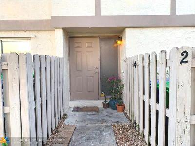 Sunrise Condo/Townhouse Backup Contract-Call LA: 3050 NW 106th Ave #2