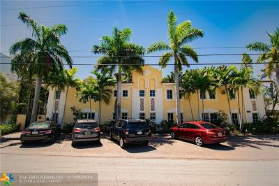 Fort Lauderdale Condo/Townhouse For Sale: 2800 NE 30th St #1
