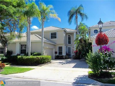 Delray Beach Single Family Home For Sale: 16795 Knightsbridge Ln