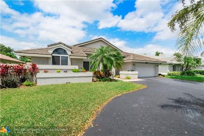 Coral Springs Single Family Home For Sale: 8683 NW 51st Pl