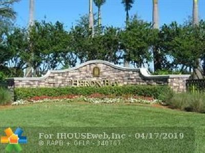 Coral Springs FL Condo/Townhouse For Sale: $315,000