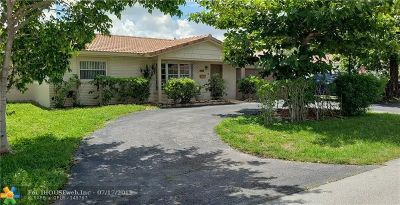 Coral Springs Single Family Home For Sale: 3651 NW 80th Ave