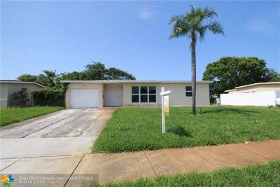 Pompano Beach FL Single Family Home For Sale: $268,000