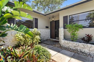 Oakland Park Single Family Home For Sale: 1980 NW 33rd St