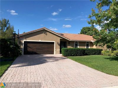 Coral Springs Single Family Home For Sale: 10337 NW 17th St
