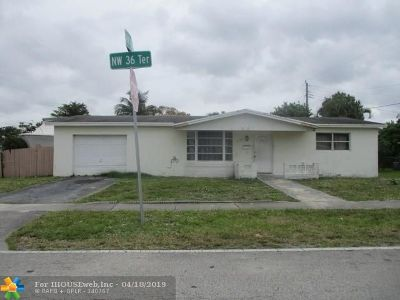 Lauderdale Lakes Single Family Home For Sale: 4380 NW 36th Ter