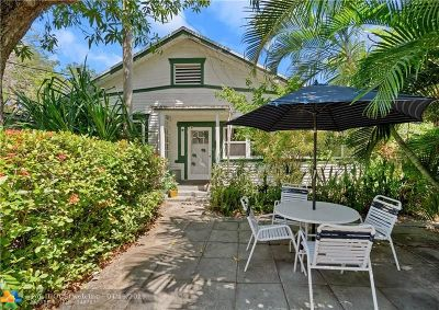 Fort Lauderdale Single Family Home For Sale: 1123 SW 5th Pl