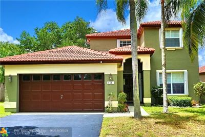 Coconut Creek Single Family Home For Sale: 5501 NW 51st Ave