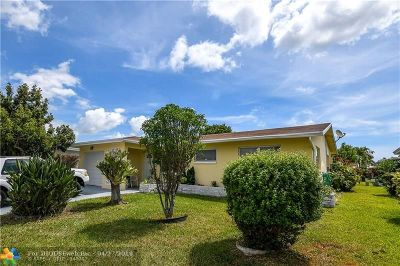 Tamarac Single Family Home For Sale: 4402 NW 44th Ave