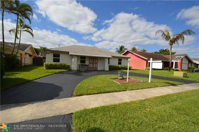 North Lauderdale Single Family Home For Sale: 7412 SW 14th Pl