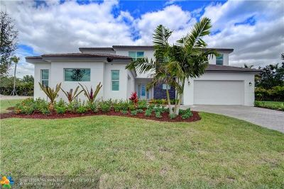 Boynton Beach Single Family Home For Sale: 9605 Captiva Cir